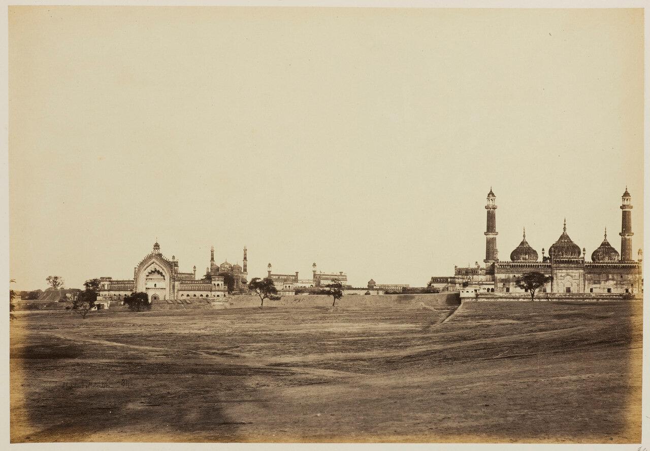 Общий вид комплекса Бара Имамбара 1862 г.