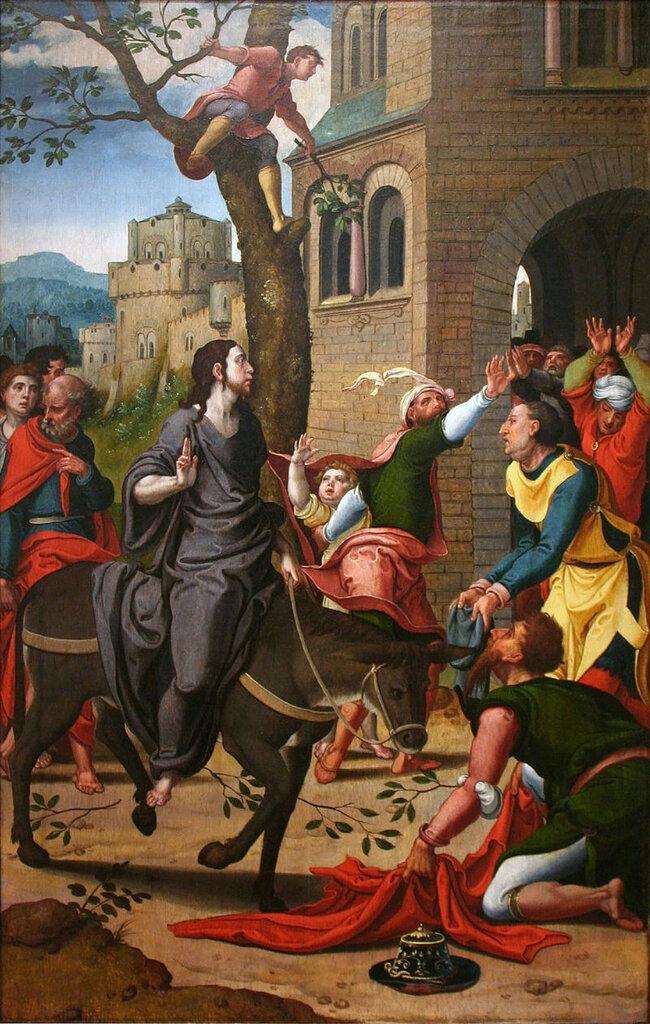 Pieter_Coecke_van_Aelst_-_Intocht_in_Jeruzalem ок. 1530.jpg