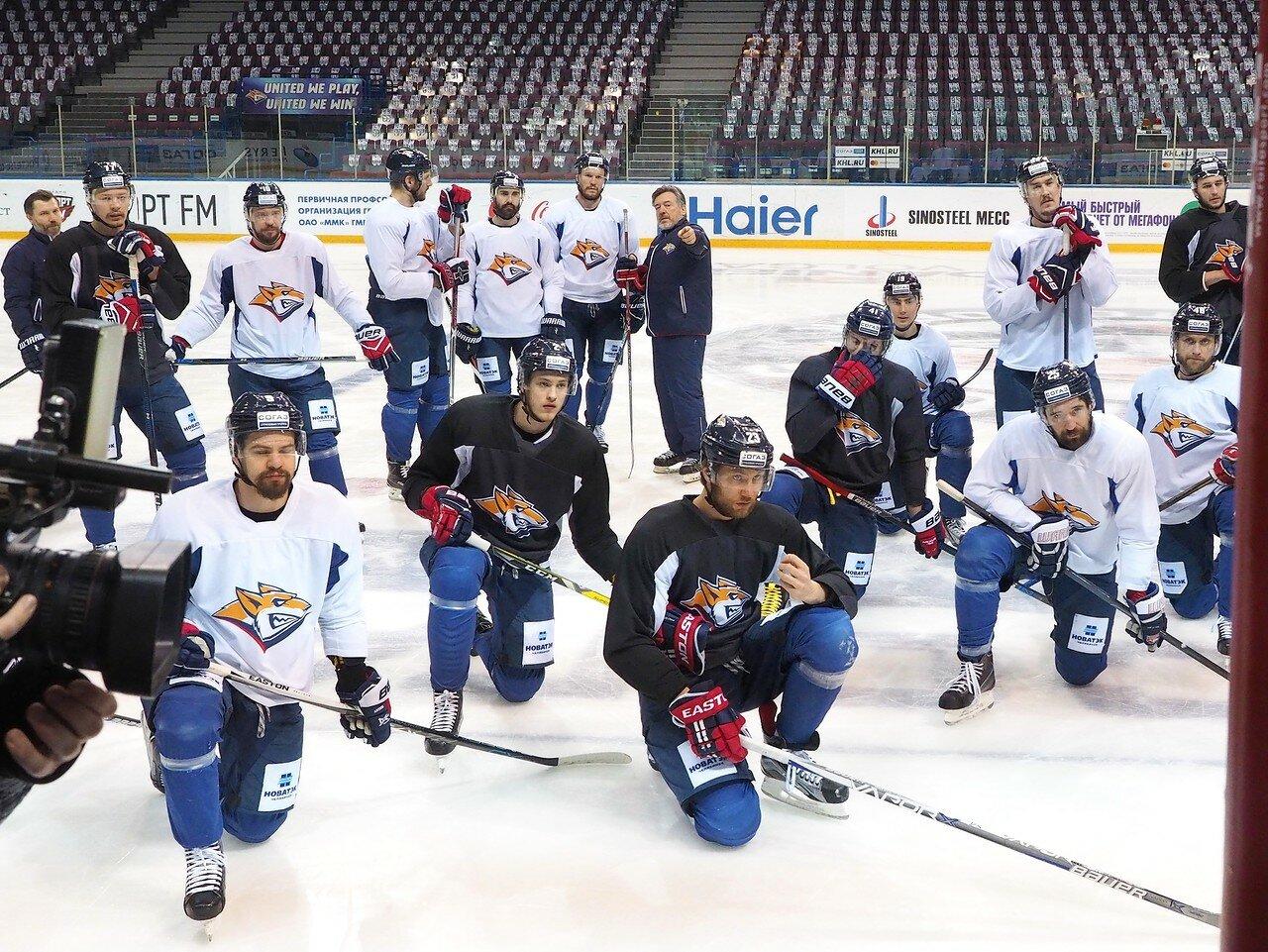 15 Открытая тренировка перед финалом плей-офф КХЛ 2017 06.04.2017
