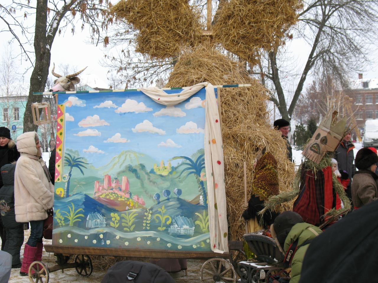 """Фестиваль святочных забав: """"Ледяной дом"""" в Коломне (дела давно прошедших дней)."""