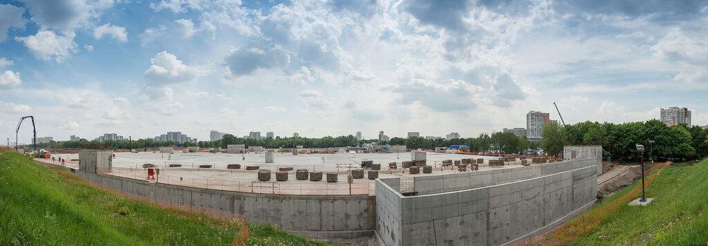 Панорама подземной парковки
