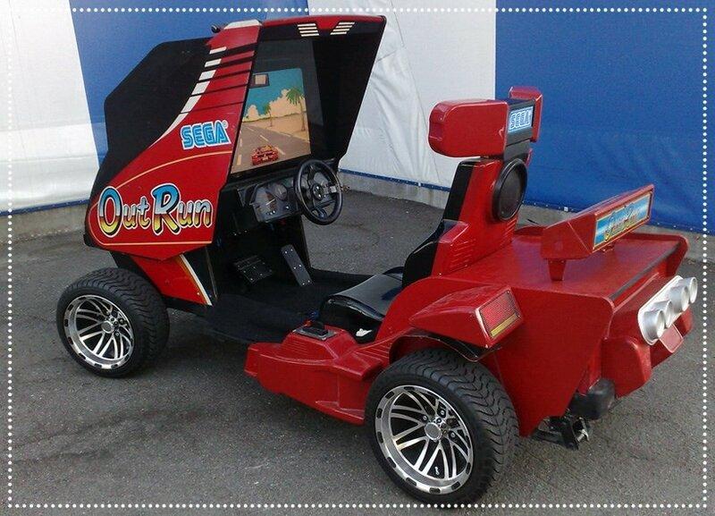 Игровой автомат на колёсах. Игра или современное искусство?