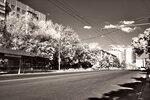 Улица Атарбекова в ИК-диапазоне