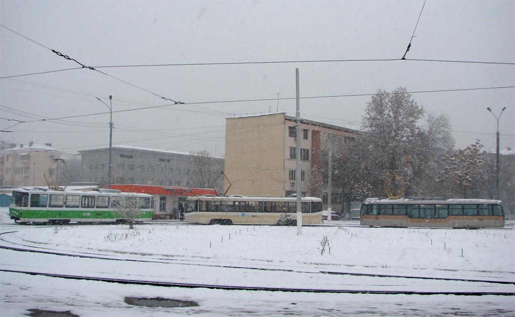 Трамвай №9 в Ташкенте