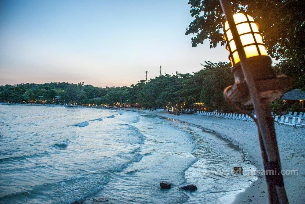 остров Самет пляж Малибу
