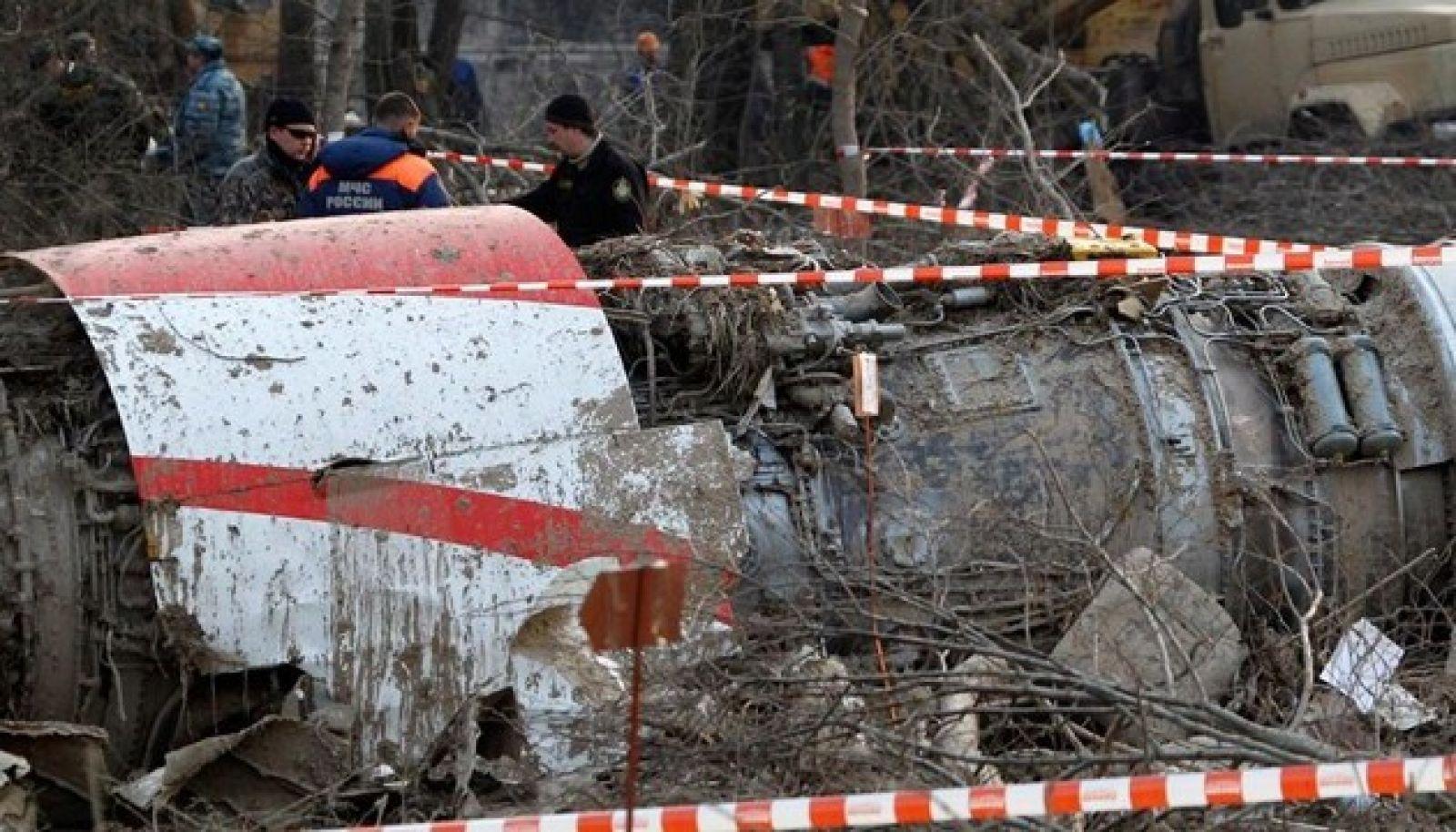Фото с места трагедии авиакатастрофы 5