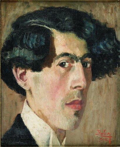 Self-Portrait of the Artist in His Studio, 1914.jpg