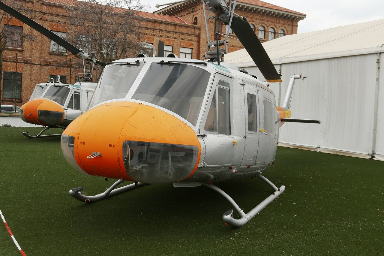 Bell AB-205 UH-1H (Museo del Aire, Madrid)