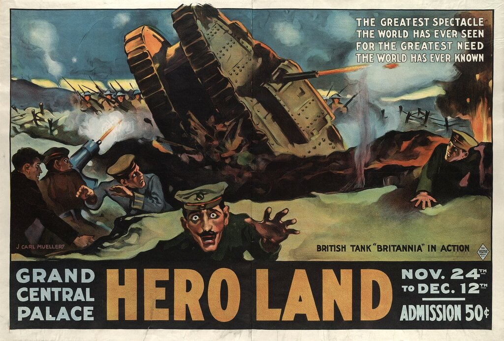 Hero land - the greatest spectacle the world has ever seen for the greatest need the world has ever known (1917).