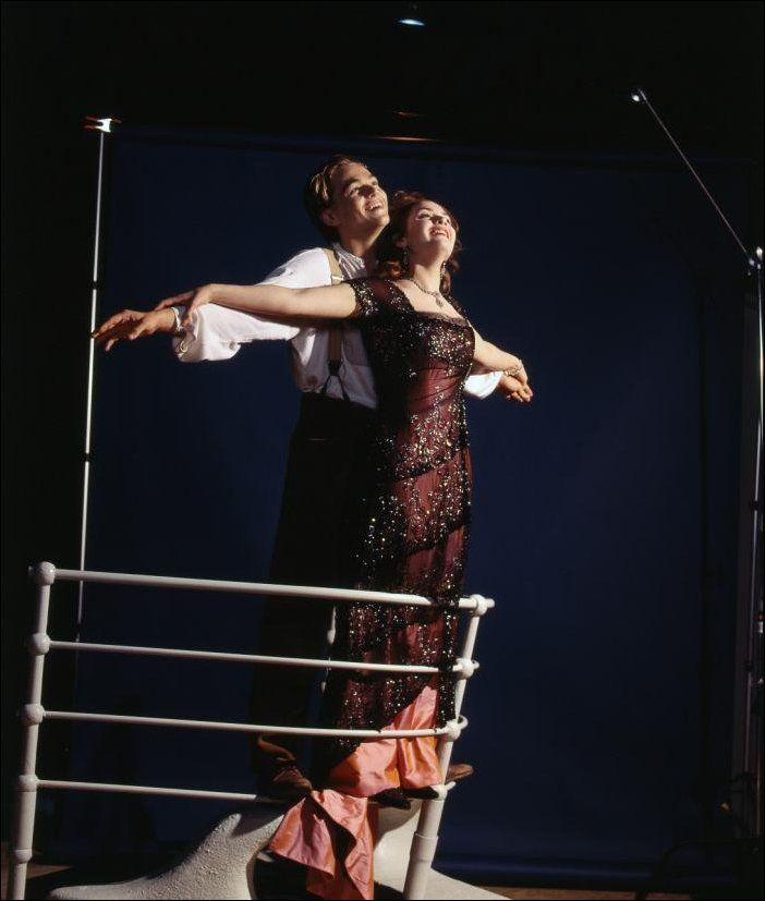 Как снимали «Титаник»: редкие фото со съемок (52 фото)