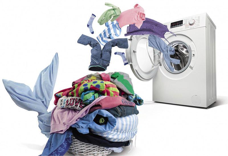 6. Стирать одежду только в холодной воде, чтобы можно было ее не сортировать.