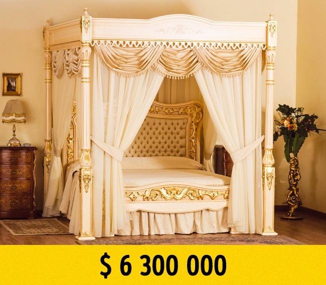 © stuarthughes.com  Эта роскошная кровать отСтюарта Хьюджеса (Stuart Hughes) стоит нимного н