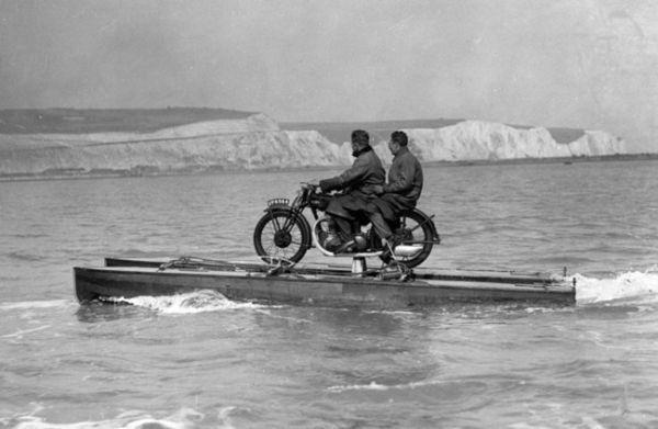 Что делать, если у вас есть мотоцикл, а хочется моторную лодку.
