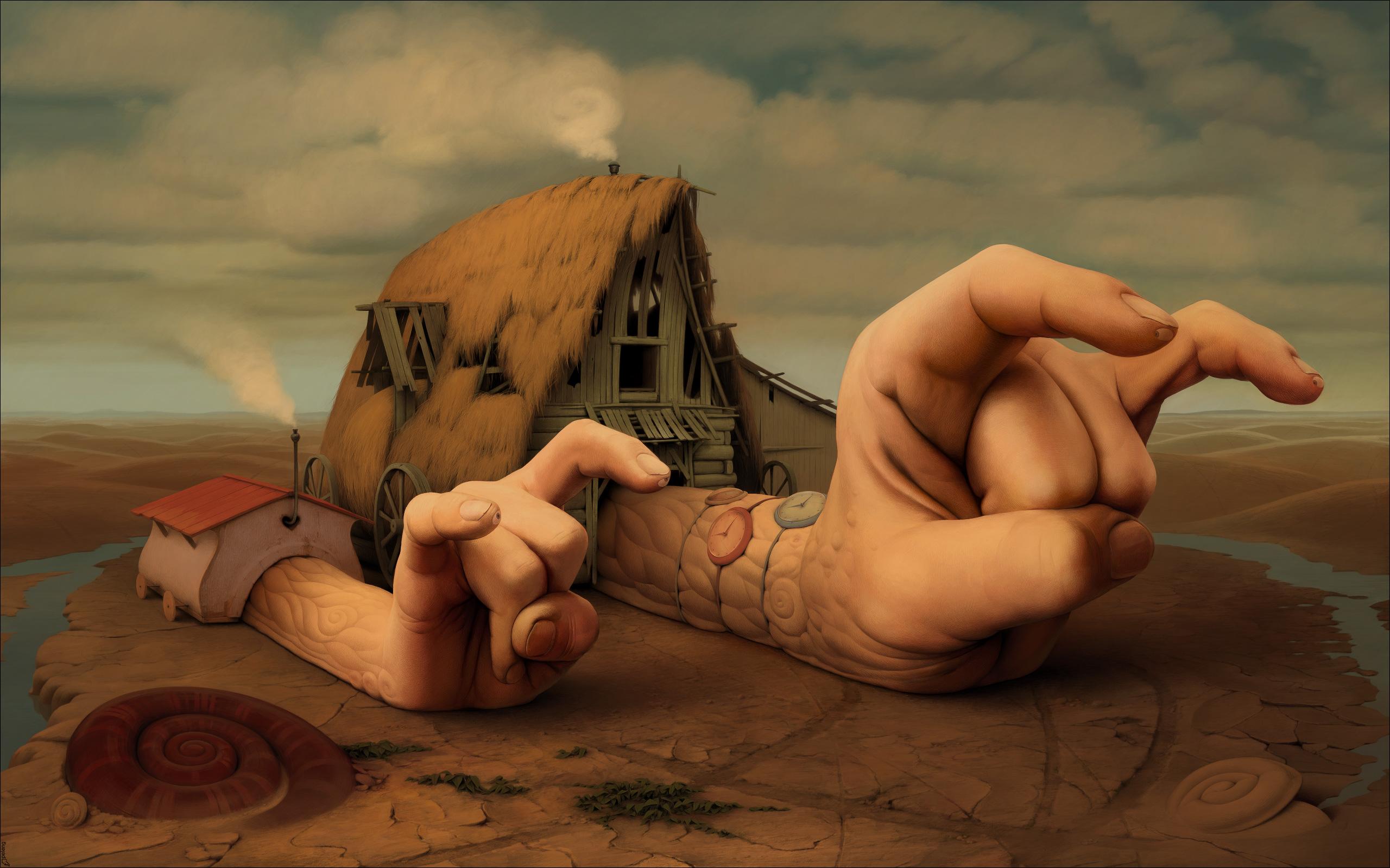 Российский художник-иллюстратор Сергей Колесов (Sergey Kolesov), также известный как Пеленг (Peleng)