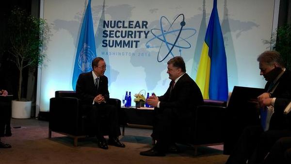 Порошенко попросил генерального секретаря ООН расследовать пытки над украинцами вРФ