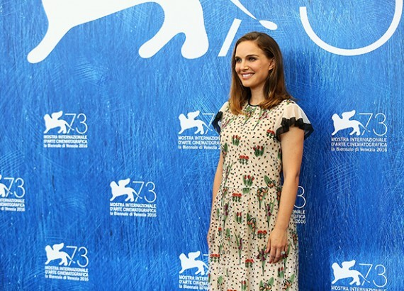 Натали Портман представила фильм «Джеки»