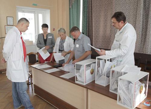 В Республики Беларусь напарламентских выборах практически четверть избирателей отдала голос преждевременно