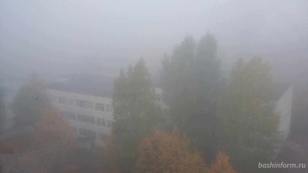 Ваэропорту Уфы из-за тумана задержаны рейсы