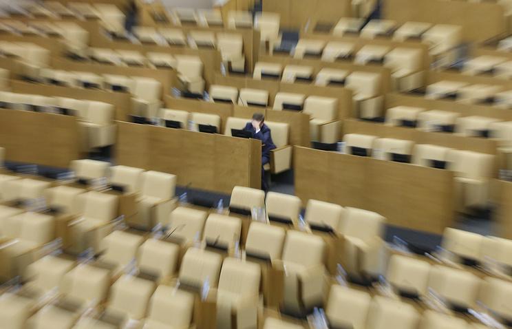 Впленарках Государственной думы появятся 30-минутные технические перерывы «нагимнастику»— Решульский