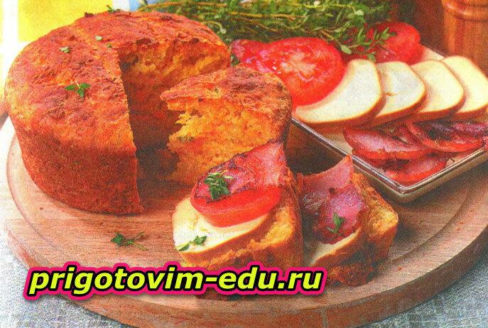 Домашний хлеб с тимьяном