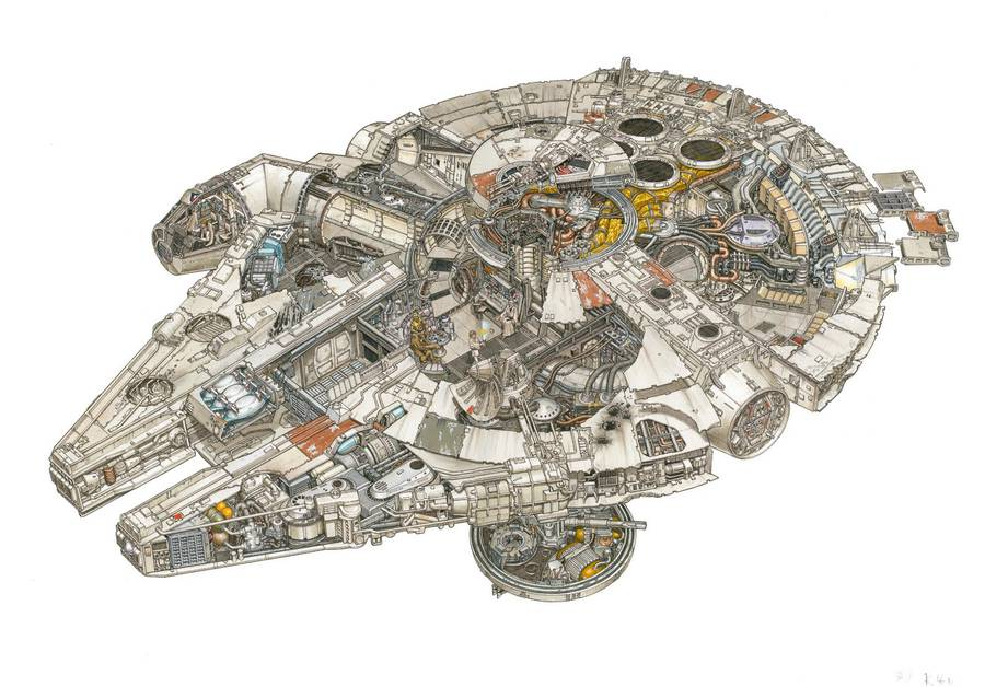 Star Wars Ultra-Detailed Illustrations (11 pics)
