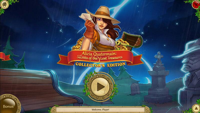 Alicia Quatermain: Secrets of the Lost Treasures CE
