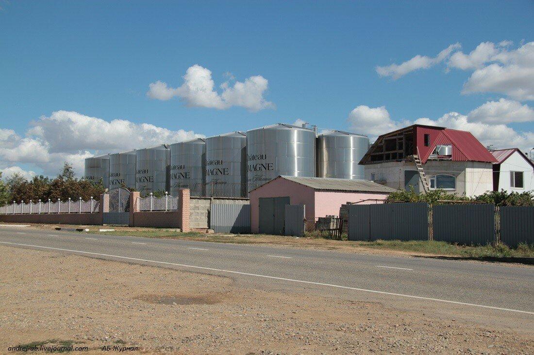 Винный завод в Тамани