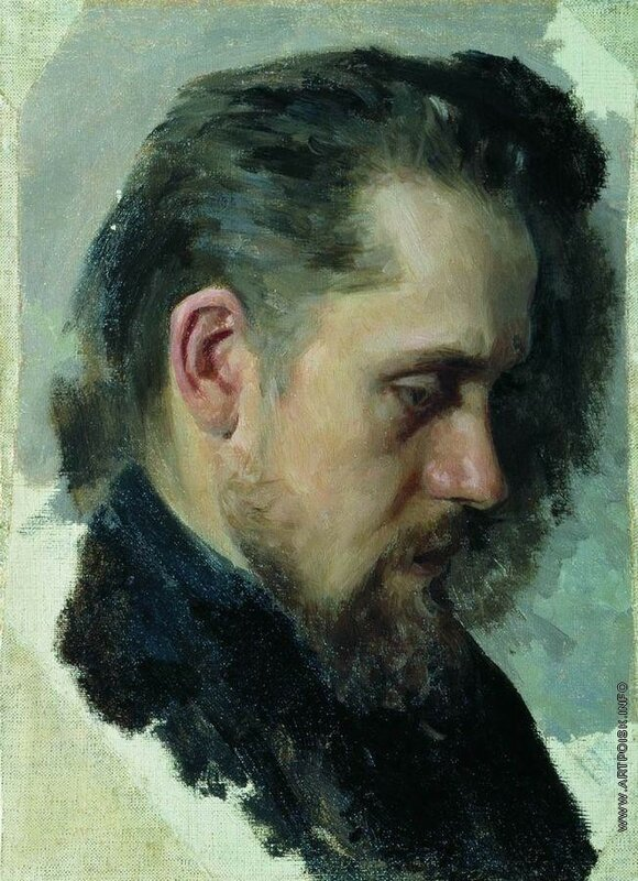 Портрет Помяловского Н..