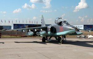 В Приморье потерпел крушение штурмовик Су-25