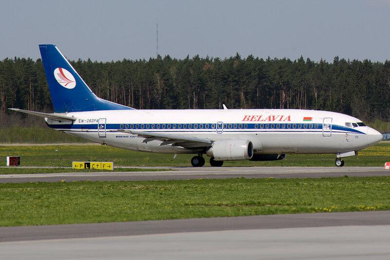 Belavia EW-282PA