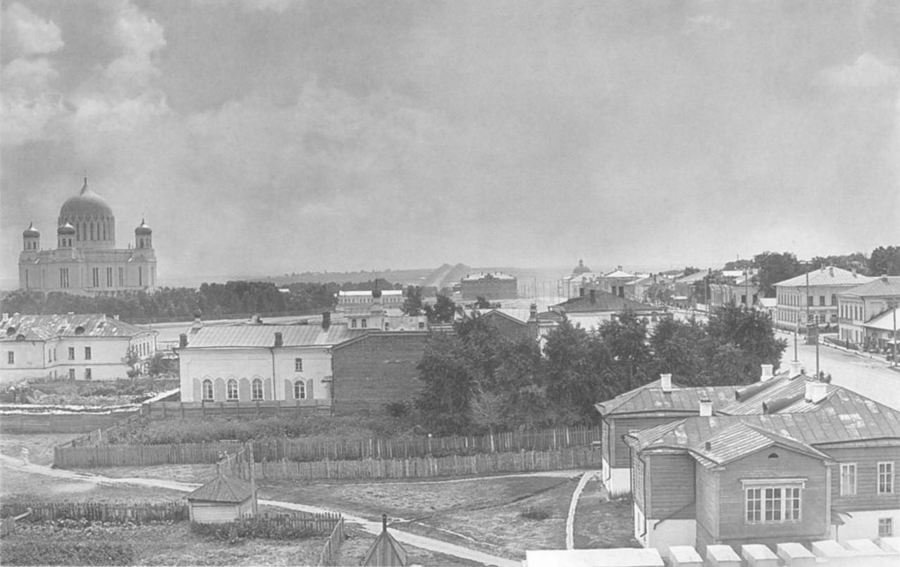 Панорама юго-восточной части города