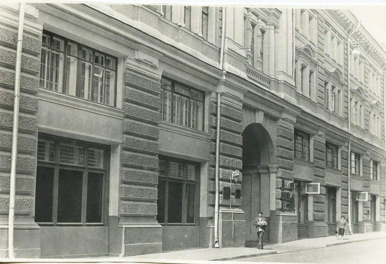 1960-е. Никольский переулок