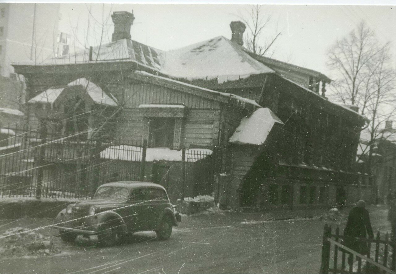 1960-е. Староконюшенный переулок