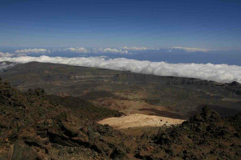 Константин Шульга, Тенерифе, на вулкане над облаками 4