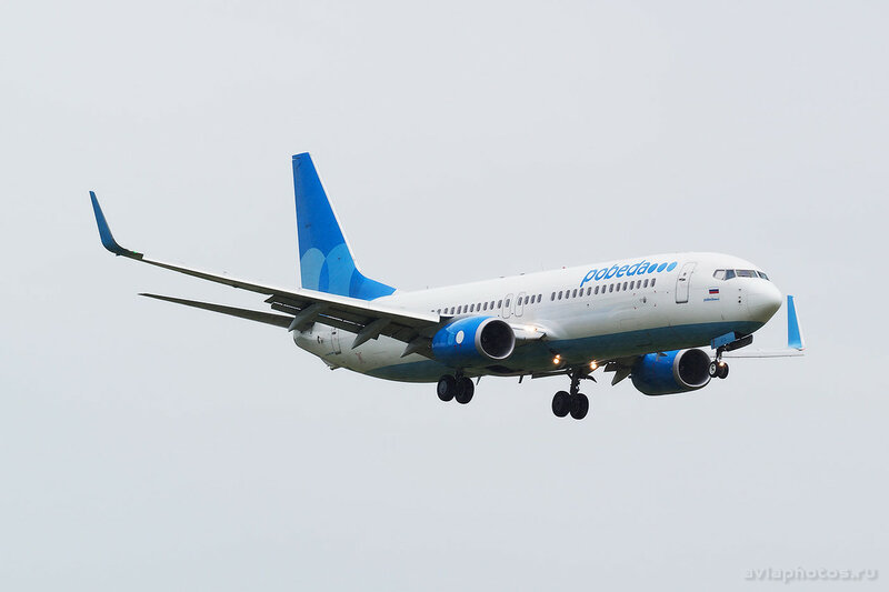 Boeing 737-8FZ (VQ-BTS) Победа 039_D801636