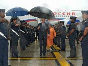 Охранники Путина подрались на саммите БРИКС