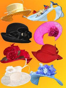 Клипарт-Женские шляпки 0_ca0bf_d2ffa1a1_M