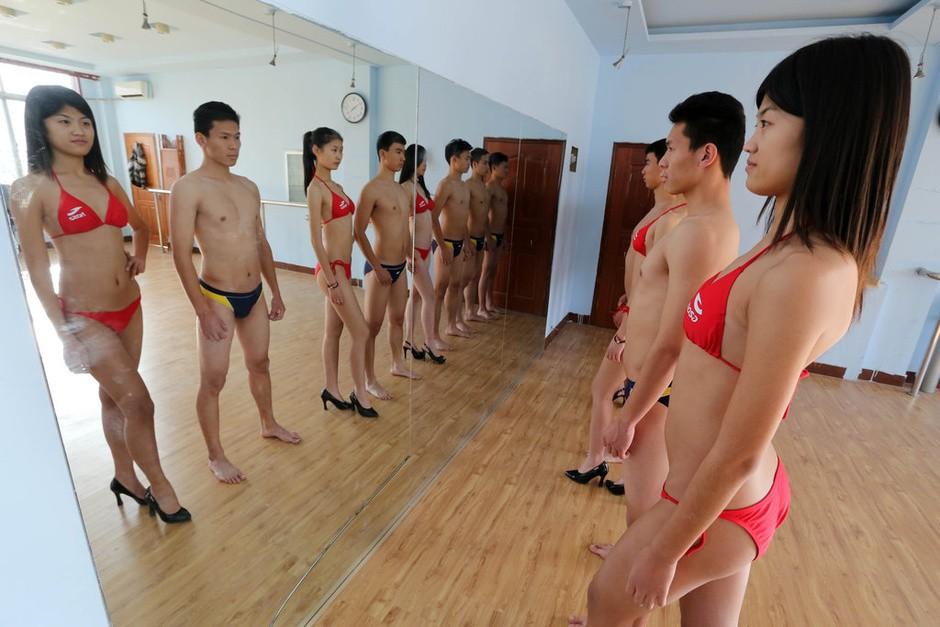 Набор на должности стюардесс в Китае