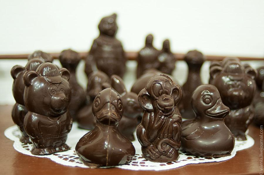 Шоколадная фигура своими руками
