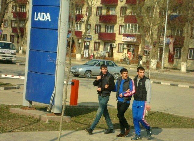 Милые чеченцы