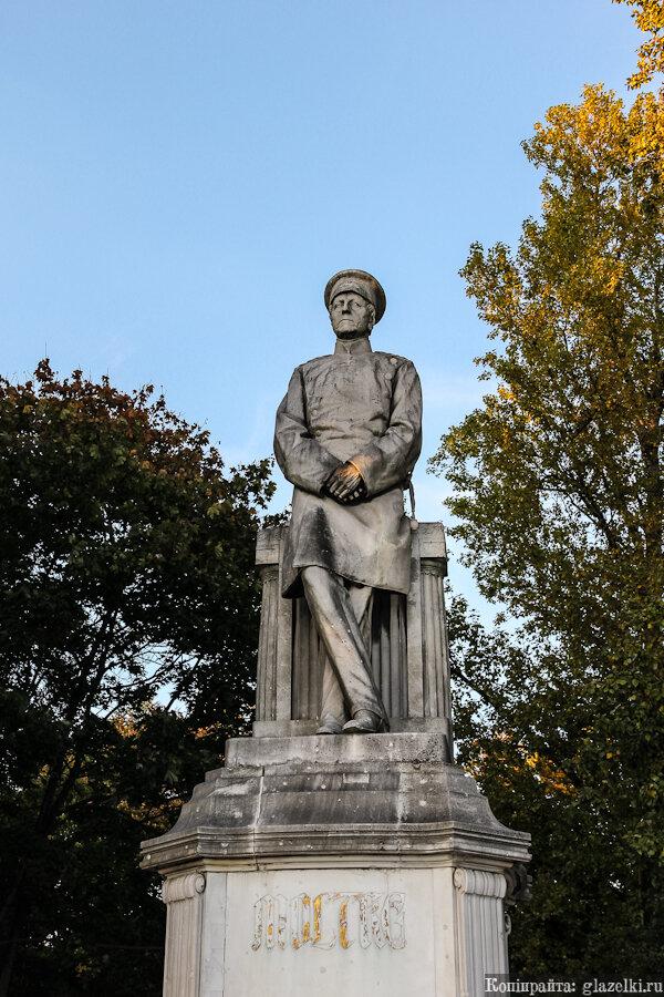 Памятник Гелльмут-Карлу Бернгарду Мольтке.