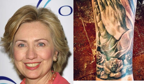 Хиллари Клинтон покинула стены больницы, а Джастин Бибер набил татуировку
