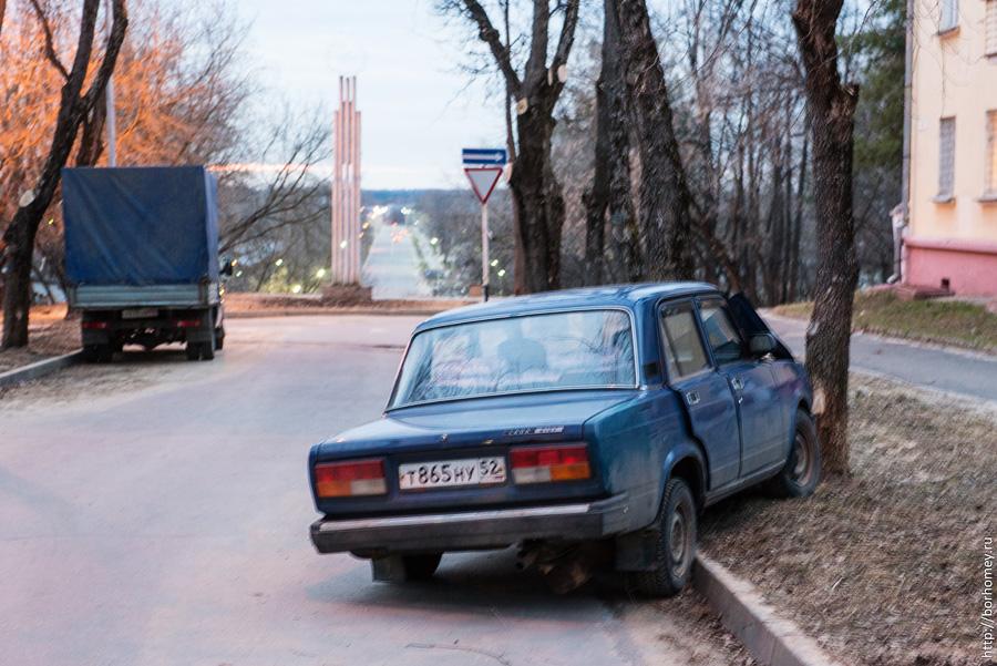 авария на улице Фрунзе Саров