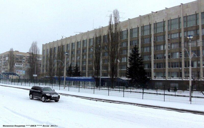 Город Киев.Улица Борщаговская. 23 марта 2013 г.