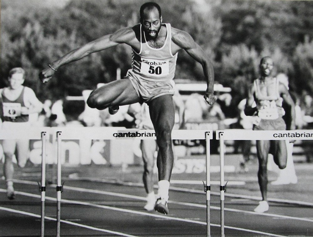 olympic hurdler moses - 1000×756