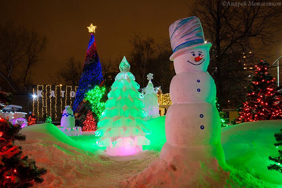 Путешествие в Рождество, Москва новогодняя