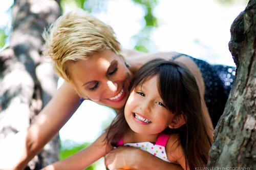 Говорят, если Бог хочет сделать женщине комплимент - он дарит ей дочь