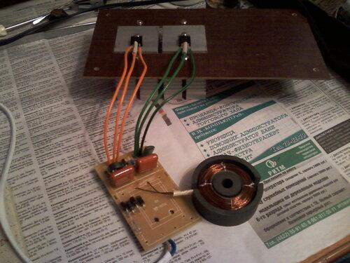 Поделки из электронного трансформатора