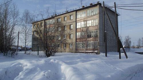 Фото города Инта №3790  Юго-востчный угол Чернова 8 19.02.2013_13:02