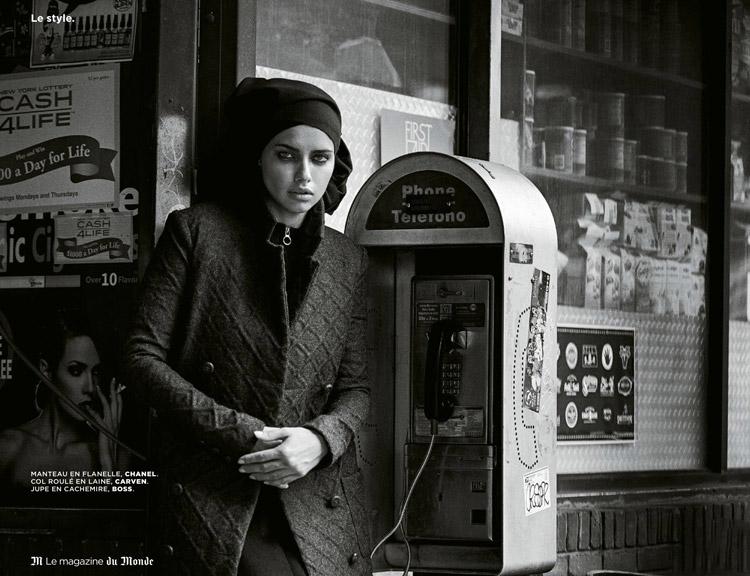 Адриана Лима (Adriana Lima) в журнале M L Monde